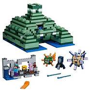 """Конструктор Bela 10734 """"Подводный храм"""" (аналог Lego Майнкрафт, Minecraft 21136), 1134 детали, фото 2"""