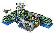 """Конструктор Bela 10734 """"Подводный храм"""" (аналог Lego Майнкрафт, Minecraft 21136), 1134 детали, фото 3"""