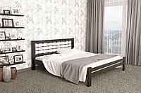 Двуспальная Кровать из дерева сосна 140*200 Гастия MECANO цвет Венге 6MKR017, фото 1