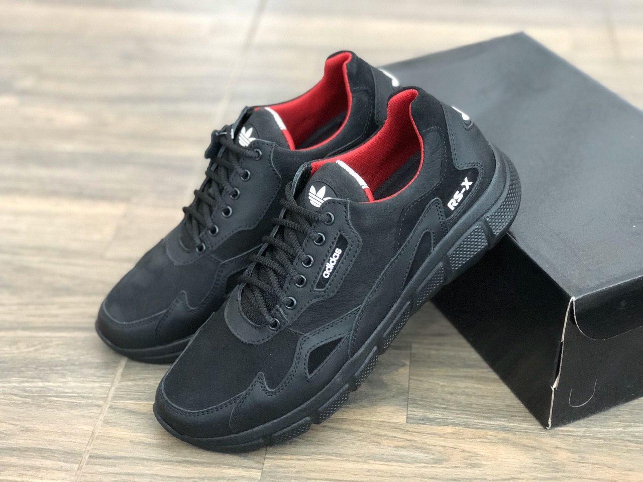 Кожаные мужские кроссовки egoist  250ч/н размеры 40-44