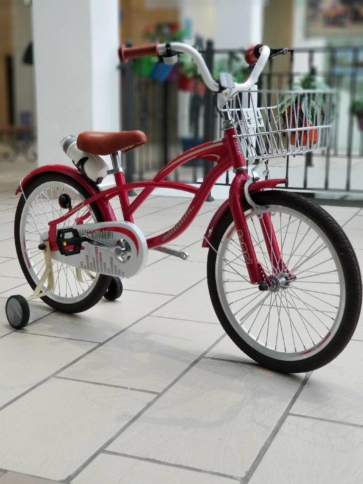 "Детский Велосипед ""STRAIGHT A STUDENT-20"" Red"