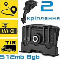 GPS COYOTE 935 DVR Double Hector +512mb-8gb Андроид Навигатор с Видеорегистратором для грузовых и легковых