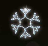 "Светодиодный LED мотив ""Снежинка"" Ø45cm"