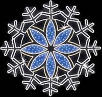 "Светодиодный LED мотив ""Снежинка"" Ø300cm"