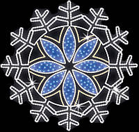 "Светодиодный LED мотив ""Снежинка"" Ø150cm"