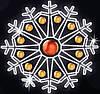 """Светодиодный мотив """"Снежинка"""" Ø150cm"""