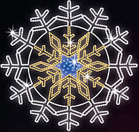 "Светодиодный LED мотив ""Снежинка"" Ø320cm"