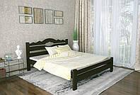 Двуспальная Кровать из дерева сосна 140*190 Тейя MECANO цвет Венге 21MKR021, фото 1