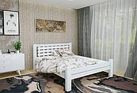 Двуспальная Кровать из дерева сосна 160*200 Гастия MECANO цвет Белый 6MKR021