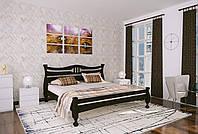 Двуспальная Кровать из дерева сосна 180*200 Кронос MECANO цвет Венге 14MKR028