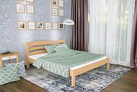 Двуспальная Кровать из дерева сосна 120*190 Посейдон MECANO цвет Светлый орех 18MKR014