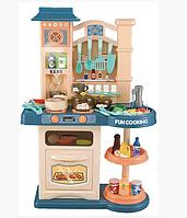 Детский игровой набор интерактивная кухня большая Bozhi Toys 838A свет звук вода холодный пар посудка