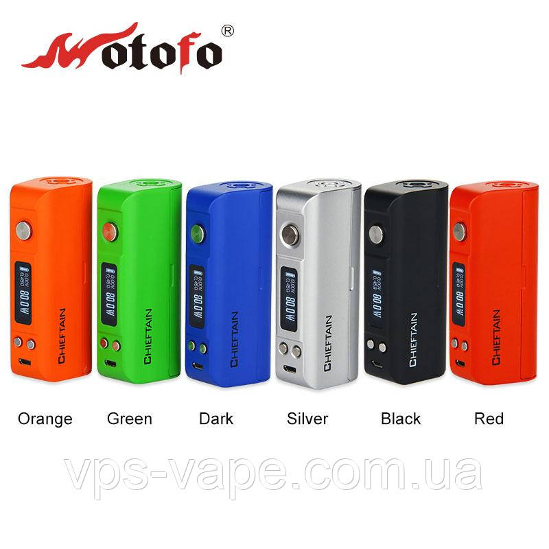 Wotofo Chieftain 80W TC Box mod