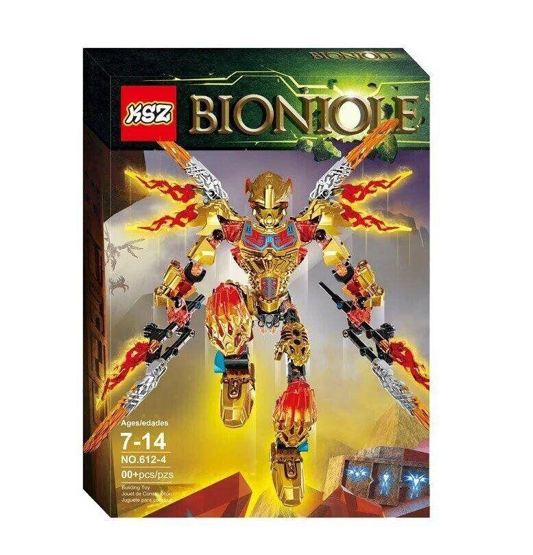 "Конструктор KSZ 612-4 Bioniole (аналог Lego) ""Таху - Объединитель Огня"" 209 дет."