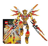 "Конструктор KSZ 612-4 Bioniole (аналог Lego) ""Таху - Объединитель Огня"" 209 дет., фото 2"