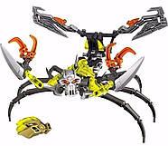 Конструктор - Bionicle - Череп Скорпион (KSZ 710-4), фото 3
