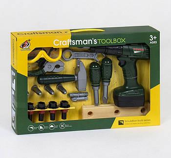 Набор инструментов crafts mans toolbox G204