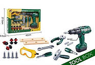 Набор инструментов crafts mans toolbox G204, фото 2