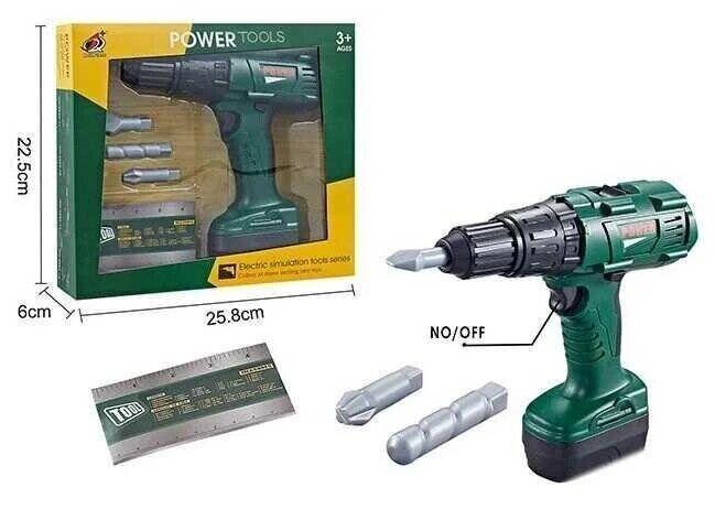Детская дрель в коробке power tools 0223-11