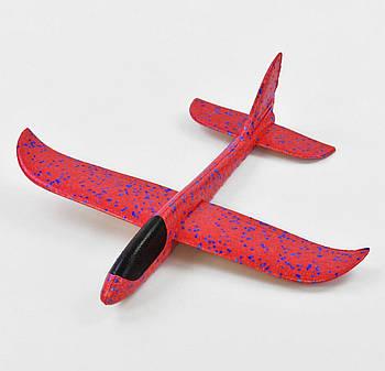 Детский Самолетик для метания Планер 49см, без света красный