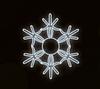 "Светодиодный LED мотив ""Снежинка"" Ø100cm"
