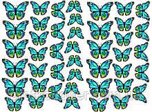 "Вафельная картинка ""Бабочки"" - 14"