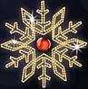 """Светодиодный мотив """"Снежинка"""" Ø120cm"""