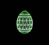 """3D світлодіодна конструкція """"Яйце"""" 300cm"""