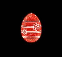 """3D светодиодная конструкция """"Яйцо"""" 300cm"""