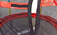 Батут с защитной сеткой детский C-B7105 (металл, PVC, пластик, d-138см, h-180см), фото 3