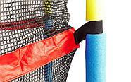 Батут с защитной сеткой детский C-B7105 (металл, PVC, пластик, d-138см, h-180см), фото 4