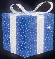 """3D світлодіодна фігура """"Подарунок"""" Ø150cm"""