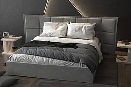 Двоспальне ліжко Трініті 160 х 200, двоспальне ліжко, дерев'яне ліжко, ліжко, двоспальне ліжко