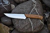 Кухонный нож для мяса с дубовой рукоятью, 40Х13, 24см