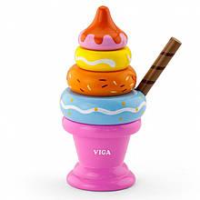 Пирамидка Мороженое Viga 51321
