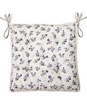 Подушка на стул табурет Lilac Rose