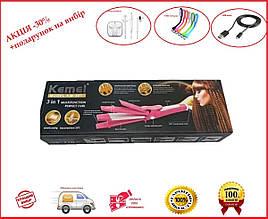 Утюжок для волос Kemei  JB-KM-987