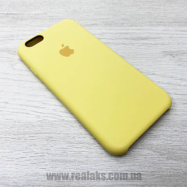 Чехол SC для Apple iPhone 6 & iPhone 6s YELLOW r, фото 2