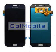 Дисплей + сенсор (модуль) экран Samsung A720, Galaxy A7 2017 черный TFT с регулировкой яркости