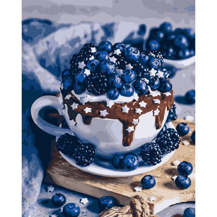 Картина по номерам Шоколадный брауни ТМ Идейка 40 х 50 см КНО5557