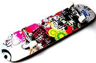 Скейтборд детский Rainbow С рисунком до 80кг (SD)