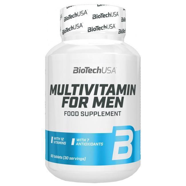 Витамины для мужчин Multivitamin for Men BioTech 60 caps
