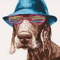 Картина по номерам Собака