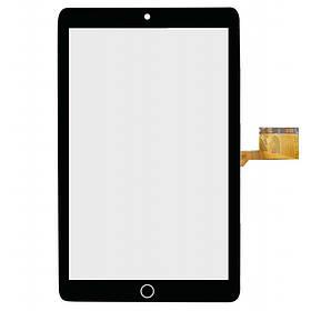 Тачскрин для вертикального планшета 10,1 , 50 pin, с маркировкой MJK-1066-FPC размер 245*155 мм, чёрный