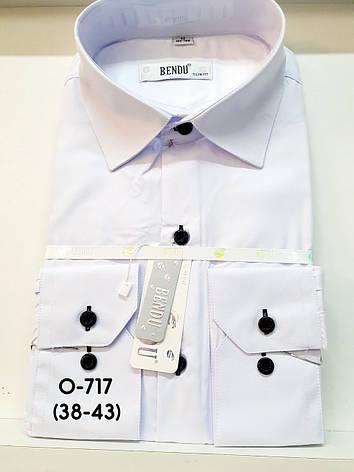 Сорочка Bendu біла з довгим рукавом - Про-717, фото 2