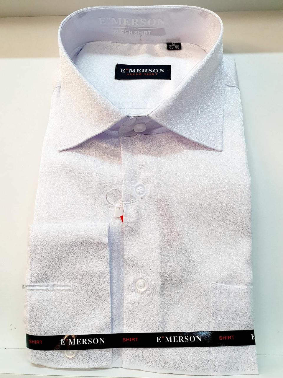 Рубашка мужская белая  Emerson