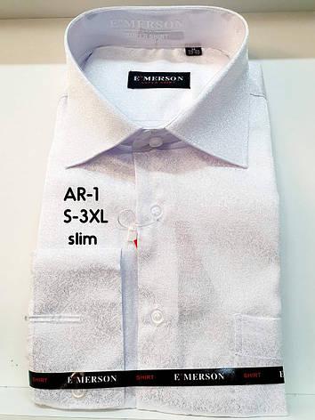 Рубашка мужская белая  Emerson, фото 2