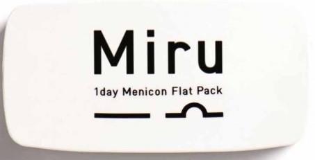 Контактные линзы Miru FlatPack (гидрогелевые), 30 шт., Menicon