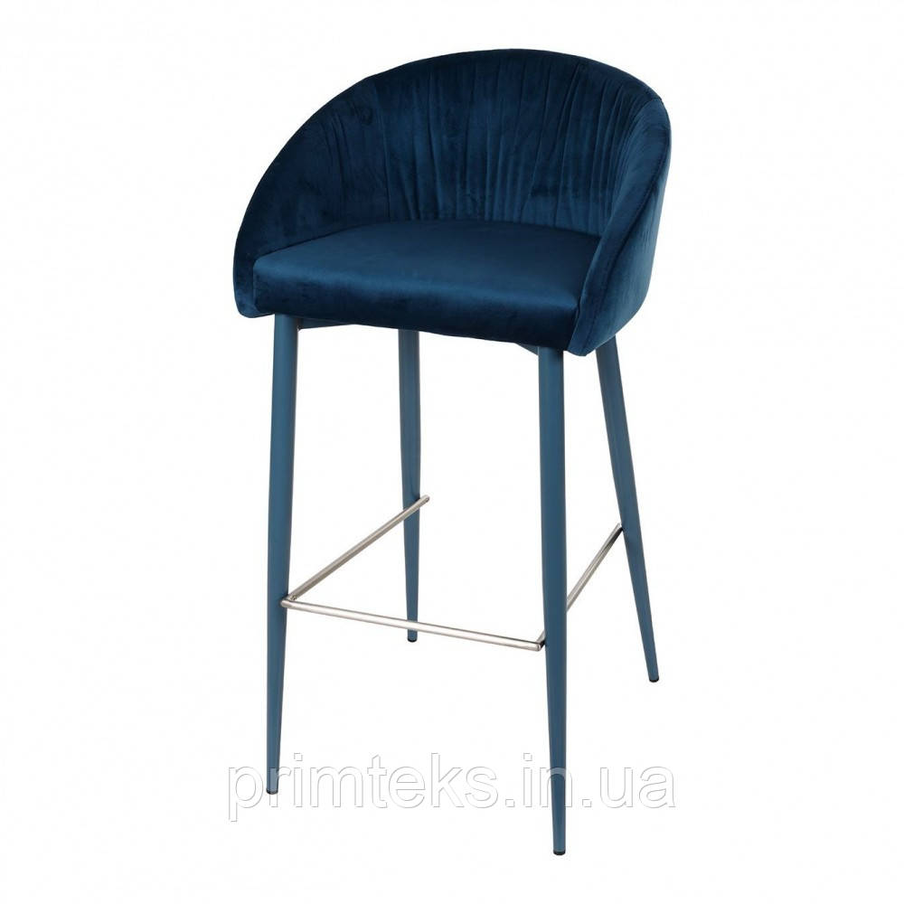 Барный стул  ELBE (Эльбе) синий