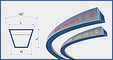 Ремень 11х10-1475 (SPA 1475) Harvest Belts (Польша) H101813 John Deere, фото 2